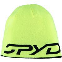 Black / Bryte Yellow Spyder Reversible Bug Hat Boys