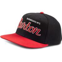 Black/Burner Burton Standard Snap Back Boys