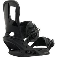 Black Burton Cartel Re:Flex Snowboard Bindings Mens