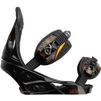 Black Burton Stiletto Snowboard Bindings Womens
