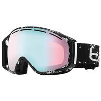 Black Caligraphy Frame with Modulator Vermillon Blue Lens Bolle Gravity Goggle