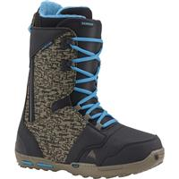 Black / Camo / Blue Burton Rampant Snowboard Boots Mens