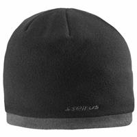 Seirus Jr Fleece Knit Hat - Black / Charcoal
