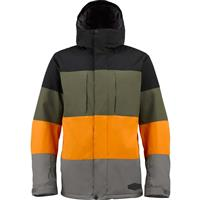 Black Colorblock Burton Encore Jacket Mens