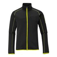 Black / Corona Yellow Salomon Lay Back II Full Zip Mens