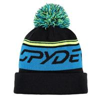 Black / Electric Blue / Bryte Yellow Spyder Icebox Hat Boys
