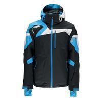 Black / Electriv Blue / Cirrus Spyder Titan Jacket Mens