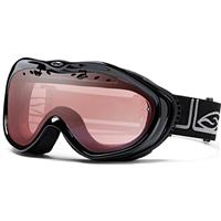 Black Foundation Frame with Ignitor Lens Smith Anthem Goggle Womens