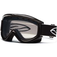 Black Frame with Clear Lens Smith Electra Goggle Womens