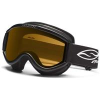 Black Frame with Gold Lens Smith Challenger OTG Goggle Youth