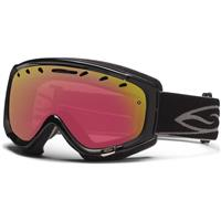 Black Frame with Photochromatic Red Sensor Lens Smith Phenom Goggle
