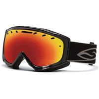 Black Frame with Red Sol X Lens Smith Phenom Goggle