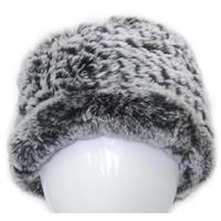 Black Frost Mitchies Matchings Rabbit Fur Headband Womens