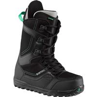 Black/Gray Burton Invader Snowboard Boots Mens