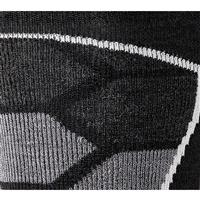 Black / Gray Smartwool PhD Ski Medium Socks