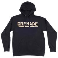Black Grenade Taped Pullover Hoodie Mens