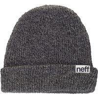 Black/Grey Neff Fold Heather Beanie
