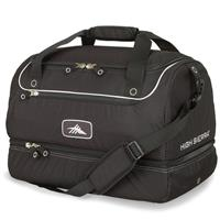 Black High Sierra Over Under Cargo Duffel Bag