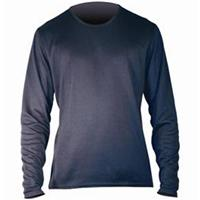 Black Hot Chillys Pepper Skins Crew Neck Top Mens