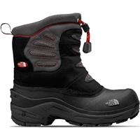 Black / Indian Clay Red The North Face Snow Plough Pull On Boot Boys
