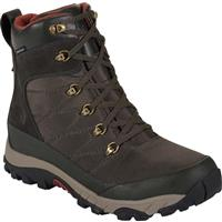Black Ink Green / Brick House Red The North Face Chilkat Nylon Boots Mens
