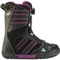 Black K2 Kat Boa Snowboard Boots Girls