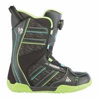 Black K2 Vandal Snowboard Boots Boys