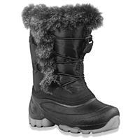 Black Kamik Cheeky Snow Boots Girls