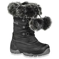 Black Kamik Ice Queen Snow Boots Preschool