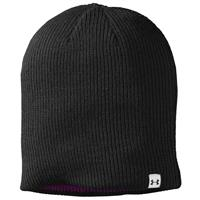 Black / Lollipop / Velvet Under Armour Classic Reversible Beanie Womens