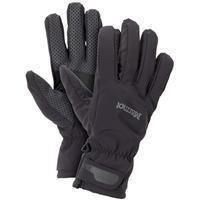 Black Marmot Glide Softshell Gloves Mens
