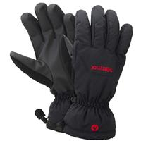 Black Marmot On Piste Gloves Mens