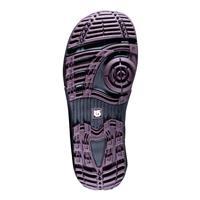 Black / Maroon Burton Hail Snowboard Boots Mens