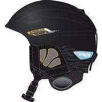 Black Matte Salomon Ranger Custom Air Helmet