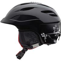 Black Midnight Bloom Giro Sheer Helmet Womens