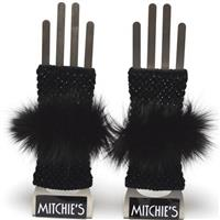 Black Mitchies Matchings Texting Glove Womens