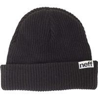 Black Neff Fold Beanie