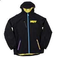 Black Neff Sno Poncho Jacket Mens
