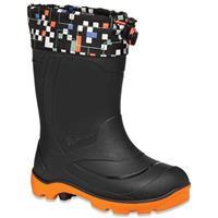 Black/Orange Kamik Snobuster 2 Boots Youth