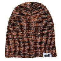 Black/Orange Neff Slashy Beanie