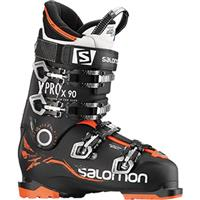 Black / Orange Salomon X Pro X90 Ski Boots Mens