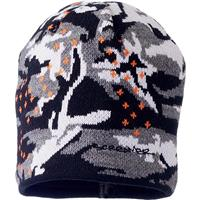 Black/Orange Screamer Dot Trooper Hat