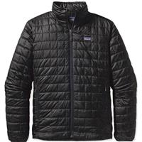 Black Patagonia Nano Puff Jacket Mens