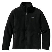 Black Patagonia Simple Synchilla Jacket Girls