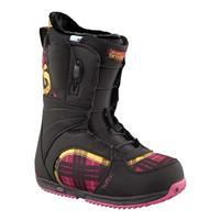 Black / Pink Burton Bootique Snowboard Boots Womens