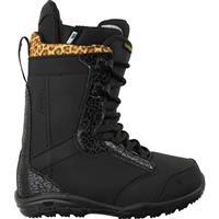Black Print Burton Sapphire Snowboard Boots Womens