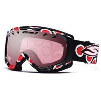 Black/Red Dots Frame with Ignitor Mirror Lens Smith Phenom Goggle