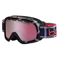 Black / Red Frame with Vermillon Gun Lens Bolle Bumpy Goggle Youth