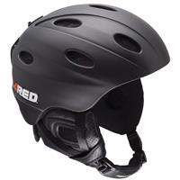 Black RED Frequency Helmet Mens