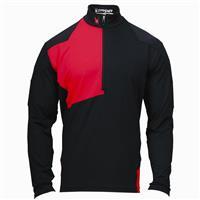 Black / Red Spyder Commander Dry Web T Neck Mens